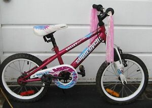 """Girls Supercycle bike 16"""" tires"""