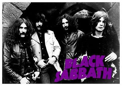 Black Sabbath  *LARGE POSTER*  Master Of Reality Paranoid  Vintage AMAZING IMAGE