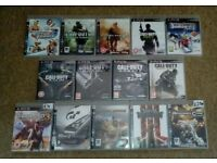 Ps3 Console bundle inc 14 games 2 controllers usb headset.