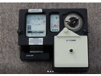 Electric £1,00 coin meter ..ideal for rental or holiday home .Takes new £1 coins