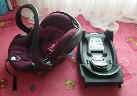 Stokke BeSafe izi Go car seat and ISOfix base