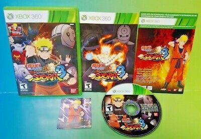Naruto Shippuden: Ultimate Ninja Storm 3 Microsoft Xbox 360 Game Tested Complete comprar usado  Enviando para Brazil