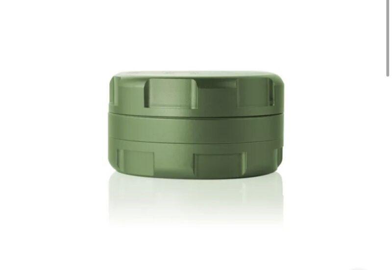 "Grav Labs 2.25""/57mm Anodized Aluminum Aerospace CNC 3 pc Grinder - Green"