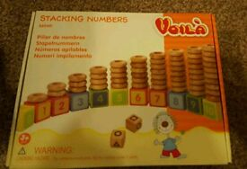 Stacking numbers game