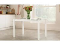 White new 120cm dining table...can deliver