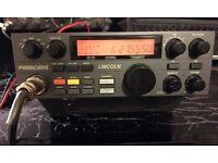 For sale 1 President Lincoln radio plus a Yaesu FT 8100R. Also a Watson w-25am power supply