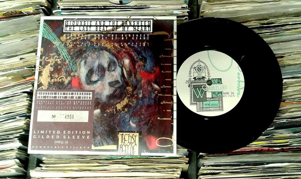 Siouxsie And The Banshees ‎– The Last Beat Of My Heart, VG, limited edition numbered 7 inch single