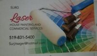 House painting and commercials services