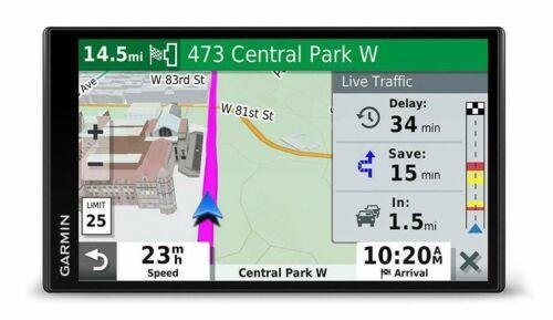 Garmin - DriveSmart 65 & Traffic - 6.95 GPS Black