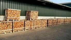 Kiln dry hardwood logs ready to burn birch ash or oak £65 per dumpy bag