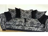 2 x 3 seater sofas excellent condition