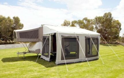Jayco 11ft Bag Awning and Canvas Walls Package