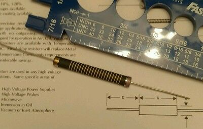 40 Tepro 3w 2.20 Mega Ohm High Voltage Metal Alloy Resistors 4 Tolerance