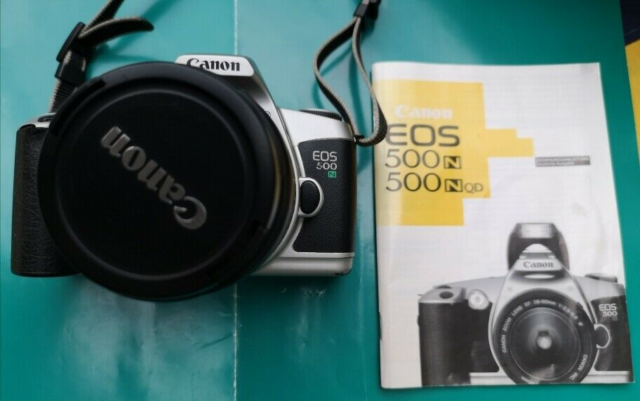 Canon Spiegelreflexkamera EOS 500 N ,Objektiv 28-80 mm, gepflegter Bestzustand