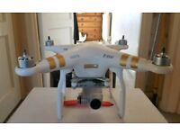 DJI PHANTOM 3 PROFESSIONAL DRONE WITH 4K CAMERA AND VIDEO + EXTRAS