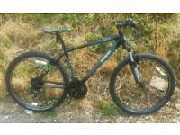 Saracen aluminium frame bike, in great condition
