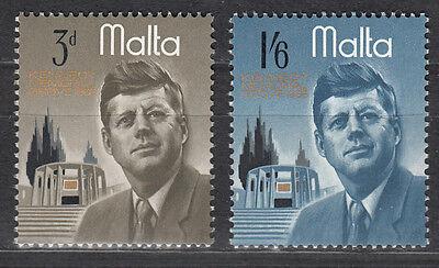 Malta Nr. 342-343** John F. Kennedy / Gedenkstätte in Malta
