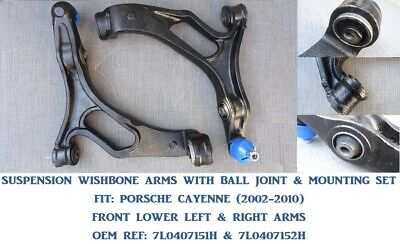 PORSCHE CAYENNE 02-10 - LOWER FRONT SUSPENSION CONTROL ARMS, WISHBONES - LH & RH