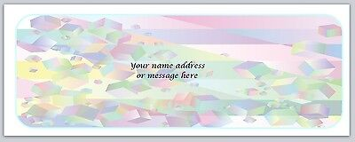 30 Personalized Return Address Labels Abstract Buy 3 Get 1 Free Bo 560