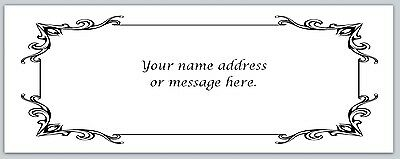 30 Personalized Return Address Labels Victorian Buy 3 Get 1 Free Bo 387