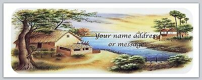 30 Personalized Return Address Labels Scenic Buy 3 get 1 free (bo 857)