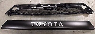 2014 2015 2016 2017 Genuine OEM Toyota 4Runner TRD PRO 2 Piece Grille Set