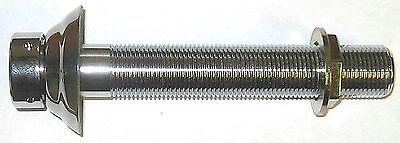 6 Shank - Beer Parts - Kegerator Tap Keg Shank - Stainless Steel Flange-4337af