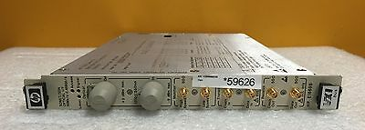 Hp E1669b Standard Sonet Sdh 1550 Nm Optical If Vxi Txrx Module
