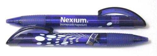 Drug Rep NEXIUM Collectible Pens x 2 RARE