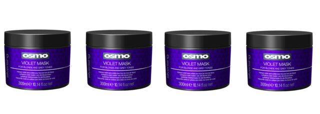 Osmo Violet Mask Silverising for Blonde & Grey Tones 300ml Pack of 2
