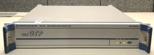 Rohde & Schwarz OSP-150, Open Switch and Control Platform