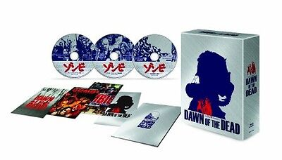 New Dawn of the Dead Zombie 35th Anniversary Blu-ray BOX Limited Edition Japan