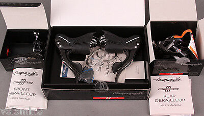 2015-2018 Campagnolo Record 11 Speed 3pc Group Shifters front rear Derailleur
