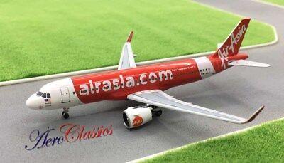 Air Asia Airbus A320 251N  Neo  9M Aga 1 400 Scale Diecast Aeroclassics