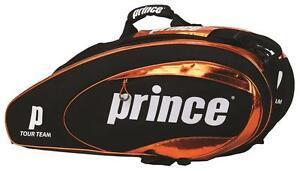 Prince-Tour-Team-Orange-Tennis-Racquet-Bag-12-Pack-Racket-Model-6P735800-2013