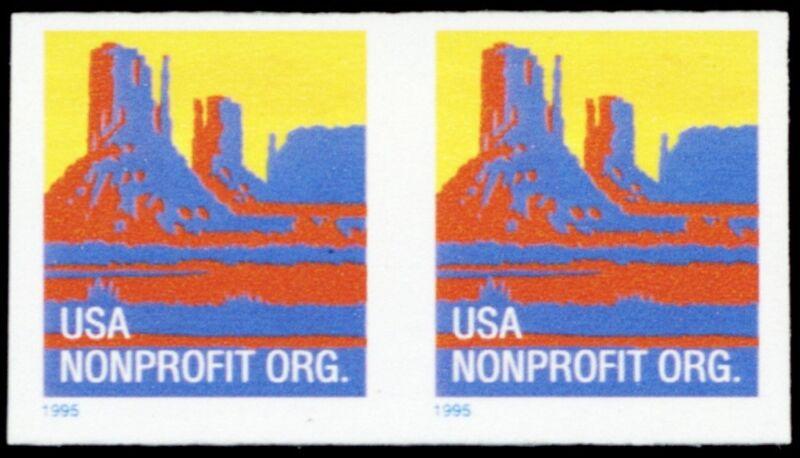2902a, Xf Mint Nh Nonprofit Org Imperforate Coil Pair Error - Stuart Katz
