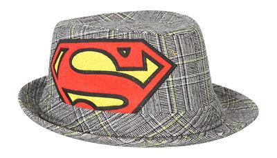 Superman Fedora Bucket Hat - Superman Bucket