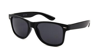 Nerd Brille Retro Hornbrillen Sonnenbrille Atzen Brille Schwarz Wayfarer Stil