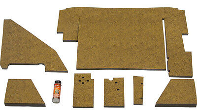 Amih88uk-ow Upholstery Kit Brown For International 3088 3288 3488 Tractors