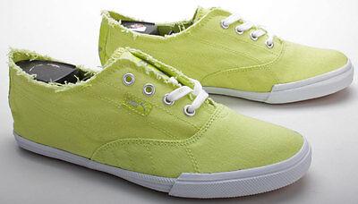 Puma Schuhe Tekkies Brites 350935 13 Wild Lime White Grün