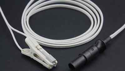 Novametrix Veterinary Ear Clip Spo2 Sensor Pa3323 7 Pin 3m For 501 511 515b 520
