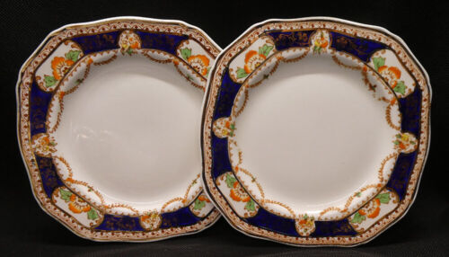 Two Alfred Meakin Caledonia Decor RD 1933 Side Plates