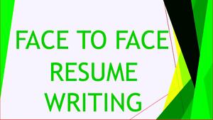Face to Face CV, Resume Writing- Fast Response Parramatta Parramatta Area Preview