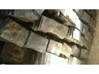 Slate tiles roof tiles reclaimed 45p each