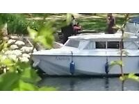 River cruiser 4 berth boat