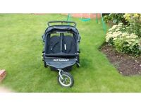 Out n about double 360 Nipper Buggy