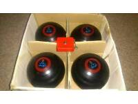 Size 1 lawn indoor short mat bowls balls green ladies men's with measure