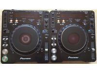 2 X Pioneer CDJ 1000 MK3 With Power Cables