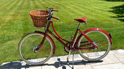 "Pashley Britannia Red Ladies Bike 17.5"" 5 Gears 2020"