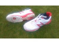 New Balance cricket batting shoes with pimple sole uk7